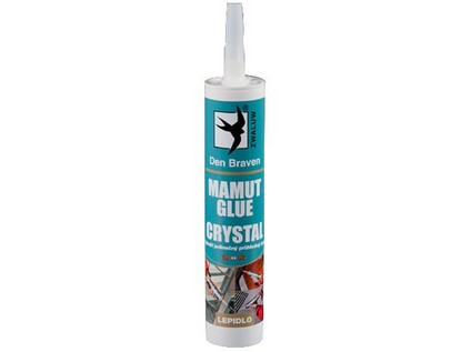 lepidlo MAMUT GLUE 290ml CRYSTAL TRANS.