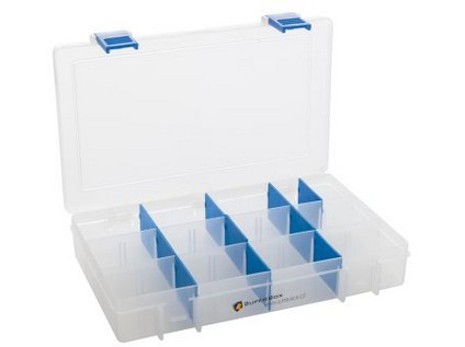 organizér SUPER BOX M 206x137x35mm mix barev
