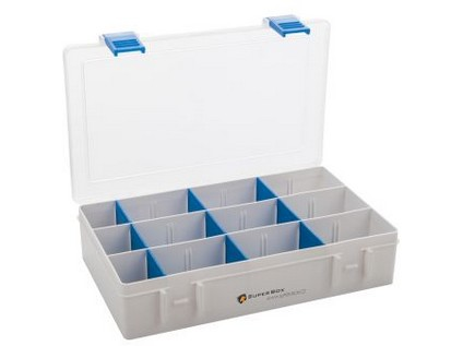organizér SUPER BOX L 206x137x45mm mix barev