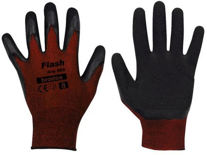 rukavice FLASH GRIP latex 10