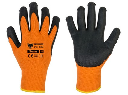 rukavice WINTER FOX LITE 11 latex